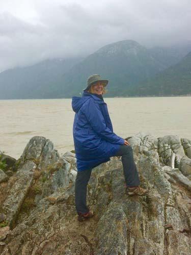 sunnyside_mh on a rock